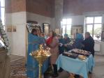 В праздник Рождества Божией Матери в храме с. Манеево была совершена  Литургия