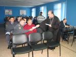 Встреча  протоиерея Сергия Ветрова с  сотрудниками полиции и ДПС по Куюргазинскому району