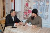 Обсуждение вопроса о строительстве православного храма в селе Шингак – Куль