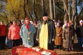 Освящение «Попова родника» в селе Старо-Михайловка Федоровского района