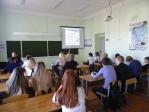 Беседа со школьниками о вреде курения, пьянства и наркомании