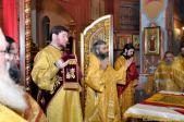 Архиерейское Богослужение по случаю первой годовщины со дня образования Салаватской епархии