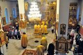 Всенощное бдение в Князь-Дмитриевском храме города Салават