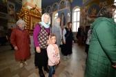 Архипастырское богослужение в Успенском кафедральном соборе г. Салавата