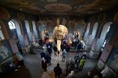 Архипастырское богослужение в Свято-Троицком храме города Ишимбай