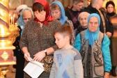 """Преосвященнейший епископ Николай совершил акафист пред иконой Божией Матери """"Казанская"""" в Успенском соборе"""