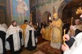 Епископ Салаватский и Кумертауский Николай совершил всенощное бдение в Свято-Троицком храме г. Ишимбая