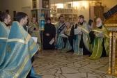 Епископ Николай совершил утреню с акафистом Божией Матери в Успенском кафедральном соборе г. Салавата