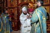 В Успенском соборе г. Салавата состоялась торжественная встреча Преосвященнейшего епископа Бирского и Белорецкого Спиридона