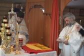 Архипастырское богослужение в храме во имя мученицы царицы Александры