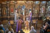 Владыка Николай совершил Божественную литургию и панихиду в Мусино