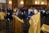 В Неделю о Страшном Суде Преосвященнейший епископ Николай и делегация Салаватской епархии молились за Литургией в Вознесенском соборе Магнитогорска