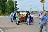В праздник Казанской иконы Божией Матери Преосвященнейший епископ Николай совершил Литургию в храме в г.Мелеузе