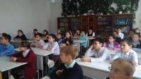 Беседа со школьниками
