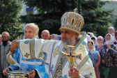 В праздник Успения Пресвятой Богородицы Преосвященнейший епископ Николай возглавил Литургию в Успенском кафедральном соборе