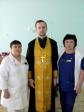Штатные клиники Успенского кафедрального собора посетили паллиативное отделение