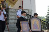 В День Крещения Руси Преосвященнейший епископ Николай совершил молебен равноапостольному князю Владимиру в Салавате и Таинство Крещения