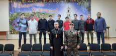 Юнармейцы города Салават посетили Успенский кафедральный собор