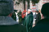 Руководитель миссионерского отдела принял участие в торжественном митинге посвященном Дню защитника Отечества