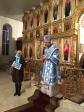 Преосвященнейший епископ Николай совершил всенощное бдение в Казанском храме г.Мелеуза